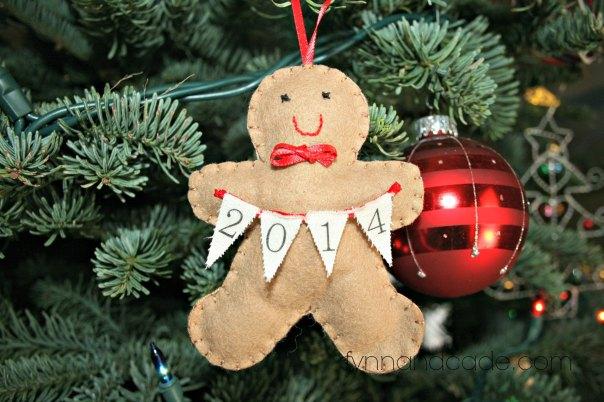 2014 Gingerbread Man Ornament