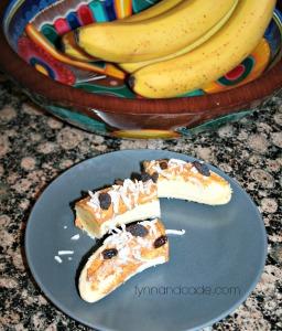 Banana coconut snack