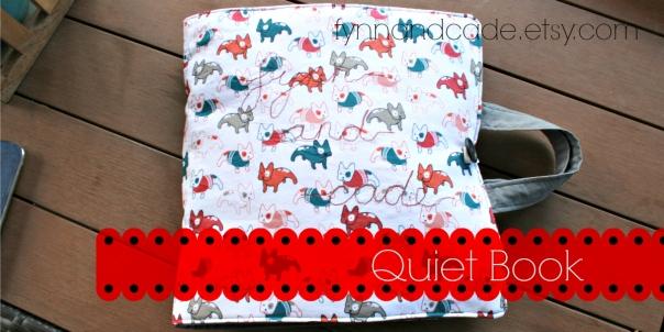 felt quiet book cover